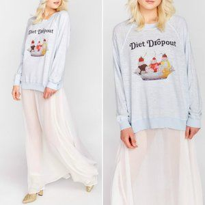 Wildfox Diet Dropout Ice Cream Kim's Sweatshirt